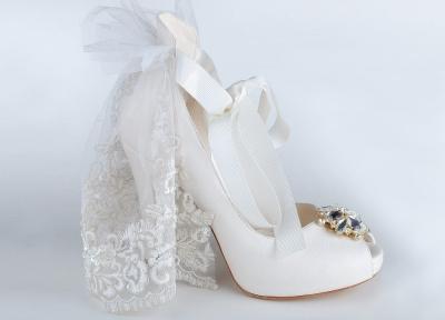 """bridal shoe"""