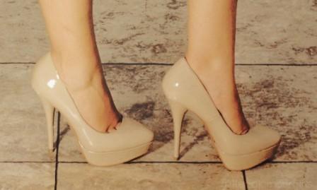 pudra rengi ayakkabı