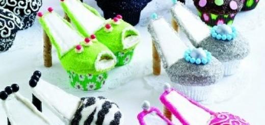 ayakkabı şeklinde cupcake