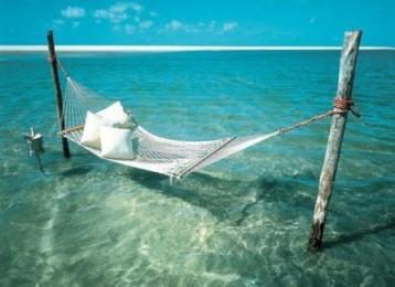 hamak, deniz, kumsal